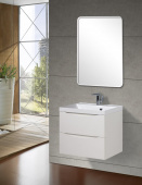 Belbagno Тумба с раковиной 60 см MARINO-600-2C-SO-BL-P+BB600/450-LV-MR-AST  от интернет-магазина Purezza