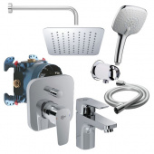 Ideal Standard Set Ceraplan III 8в1 Промо набор для душа, B1153AA от интернет-магазина Purezza